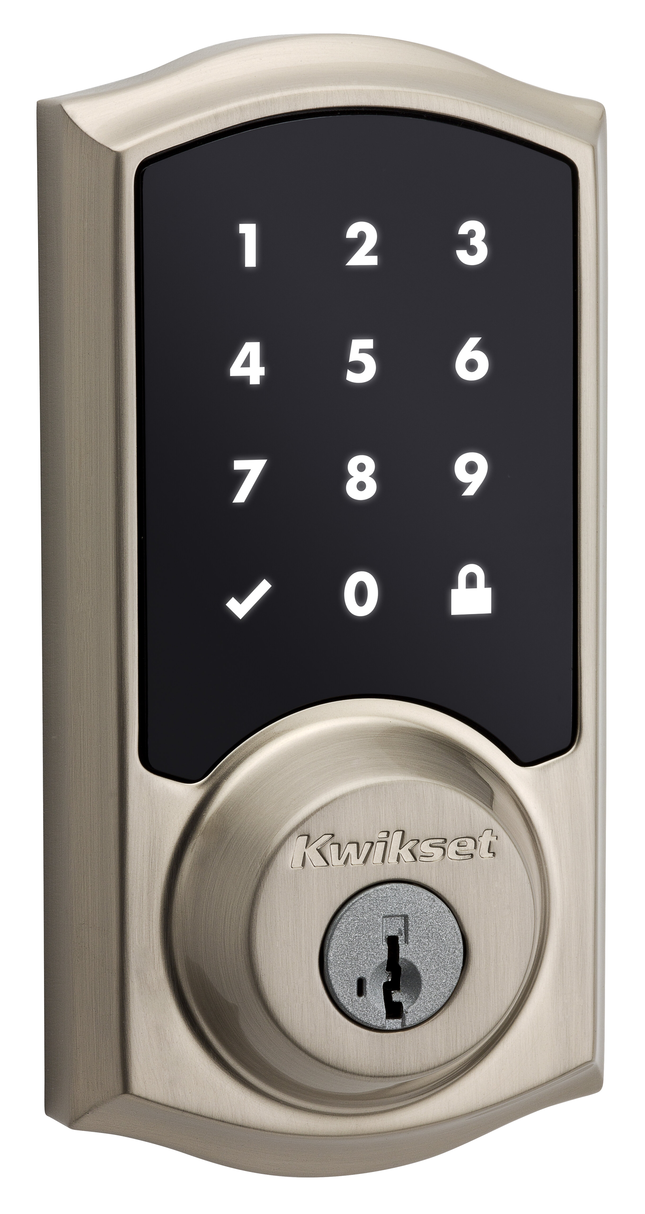 915trl15smt Smartcode Single Cylinder Electronic Deadbolt With Smartkey