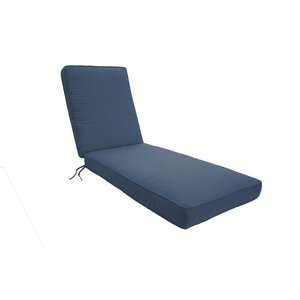 Double Piped Chaise Lounge Cushion