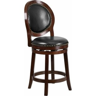 Alcott Hill Howze 26'' Swivel Bar Stool