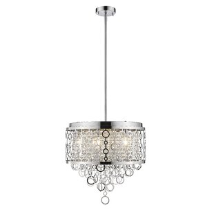 Pang 6-Light Crystal Chandelier by House of Hampton