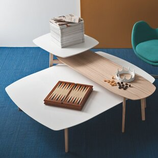 Calligaris Match Coffee Table with Double Top