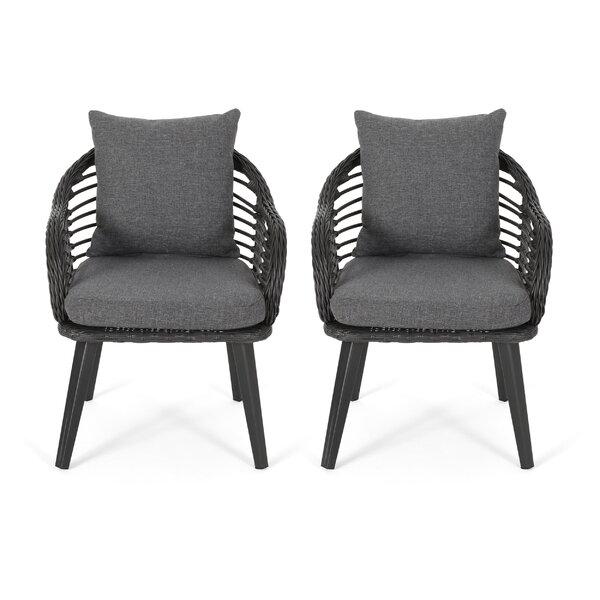 Marvelous Indoor Wicker Swivel Chair Wayfair Evergreenethics Interior Chair Design Evergreenethicsorg