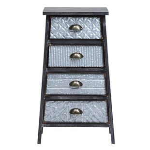 Roof 4 Drawer Accent Chest by Williston Forge
