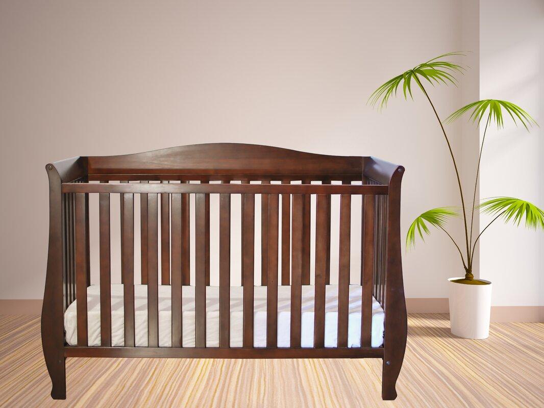 Kitt 4-in-1 Convertible Crib