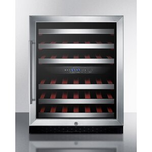 Summit 24-inch 46 Bottle Dual Zone Built-In Wine Cooler by Summit Appliance