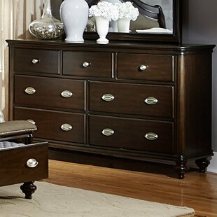 Darby Home Co Nathaniel 7 Drawer Double Dres..