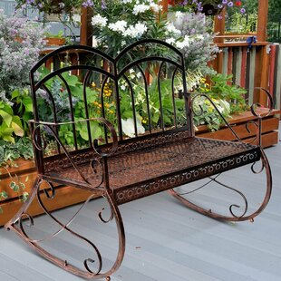 Iron Bench By Lily Manor