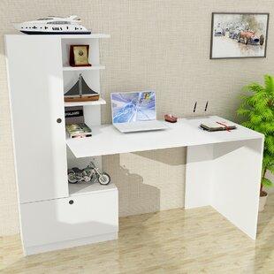 Hughson L-Shape Computer Desk By Ebern Designs