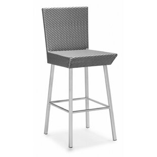 100 Essentials Dreamy Patio Bar Stool wit..