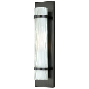 Comparison Dunellon 1-Light Wall Sconce By Latitude Run