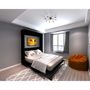 Brass Cannon Desk Queen Murphy Bed by Brayden Studio