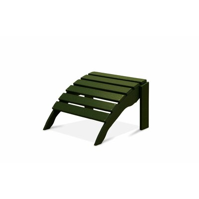 Paterson Ottoman Finish: Forest Green