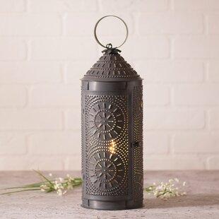 Gracie Oaks Hudgins Lantern 17