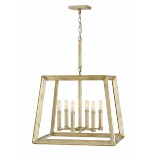 Tinsley Single Tier 6-Light Lantern Pendant by Hinkley Lighting