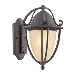 Greenhalge Outdoor Wall Lantern by Charlton Home
