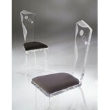 Infinity Upholstered Side Chair by Shahrooz