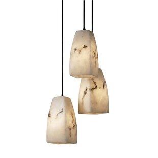 Brayden Studio Salina 3-Light Cluster Pendant