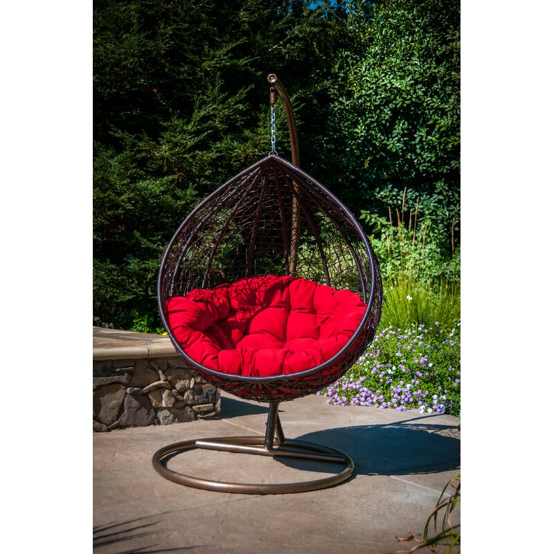 Merveilleux Yorba Hanging Swing Chair With Stand
