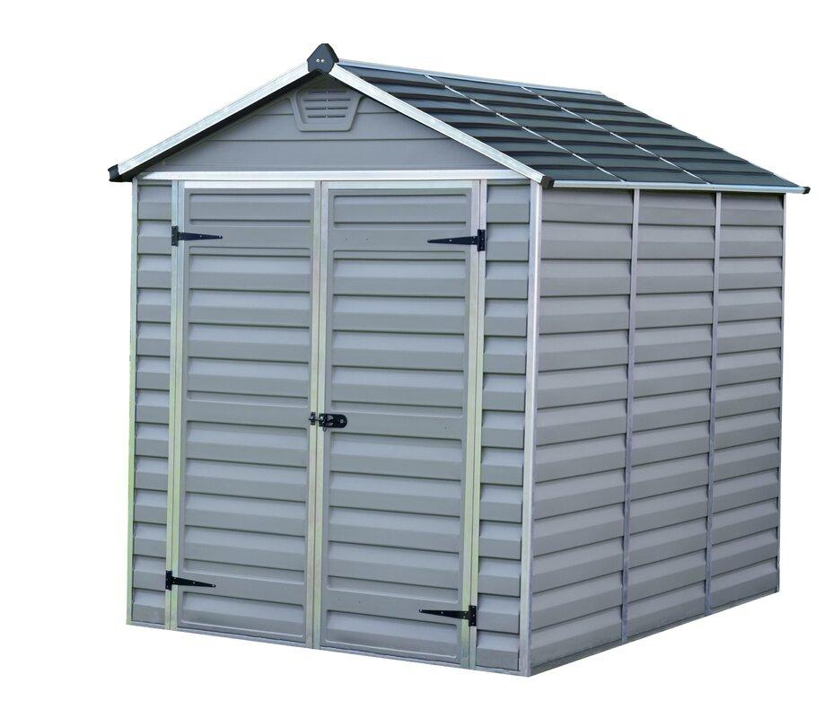 palram 183 cm x 244 cm ger teschuppen skylight aus kunststoff bewertungen. Black Bedroom Furniture Sets. Home Design Ideas