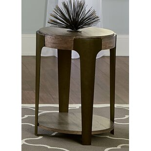 Dupuy Round End Table by Williston Forge