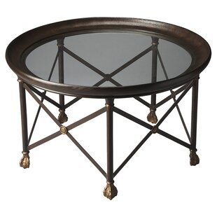 Josupeit Coffee Table with Tray Top