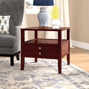 Millville End Table with Storage