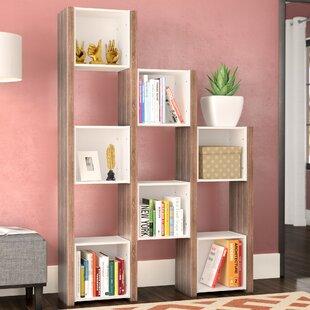 Buy clear Desai Cube Unit Bookcase ByEbern Designs