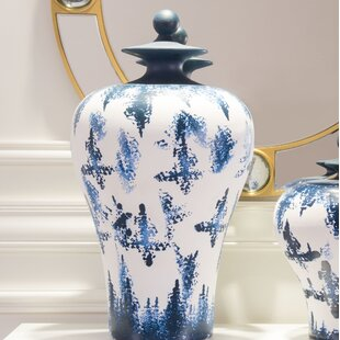Brown Temple Jar Wayfair