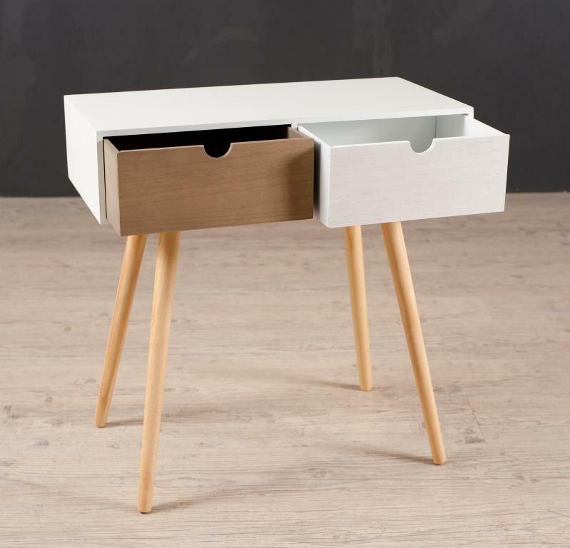 hokku designs beistelltisch henry mit stauraum. Black Bedroom Furniture Sets. Home Design Ideas