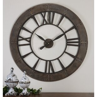 Oversized Wall Clocks You\'ll Love | Wayfair