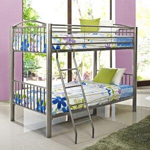 Heavy Metal Slat Bunk Bed ..