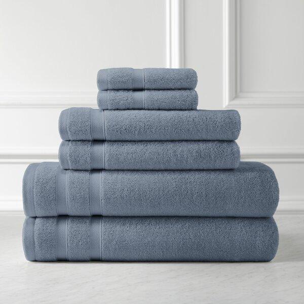Dquan Premium Quality 6 Piece 100 Cotton Towel Set Reviews Joss Main