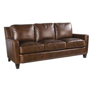 Alvarado Leather Sofa by P..