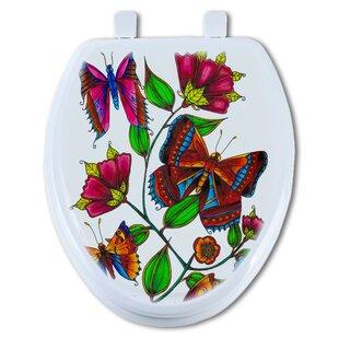 TGC Artisans Seats Butterfly Round Toilet Seat