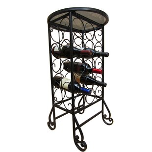 15 Bottle Floor Wine Rack by Pangaea Home and Garden