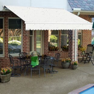 Galveston Semi-Cassette Retractable Patio Awning by Awntech