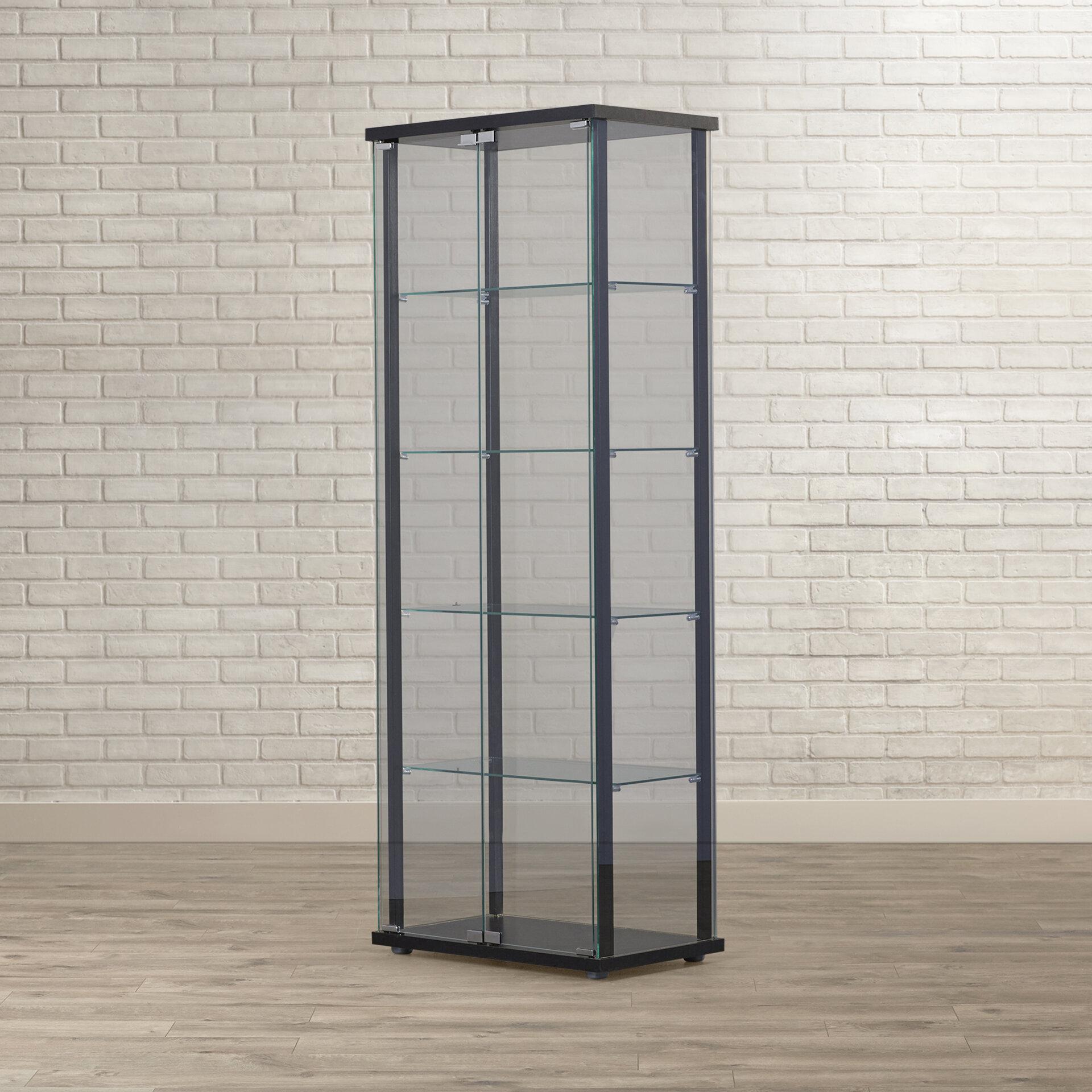 Mercury Row Bandy Curio Cabinet U0026 Reviews | Wayfair