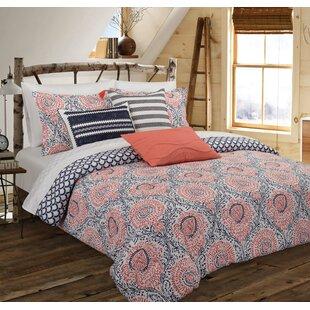 Harte Reversible Comforter Set