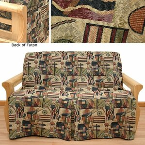Hip Hop Box Cushion Futon Slipcover by Easy Fit