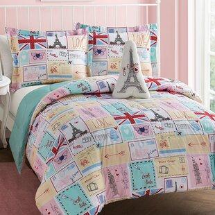 Bonjour 4 Piece Reversible Comforter Set
