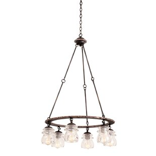 Brierfield 6-Light Shaded Chandelier by K..