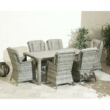Andriah 7 Piece Dining Set with Cushions