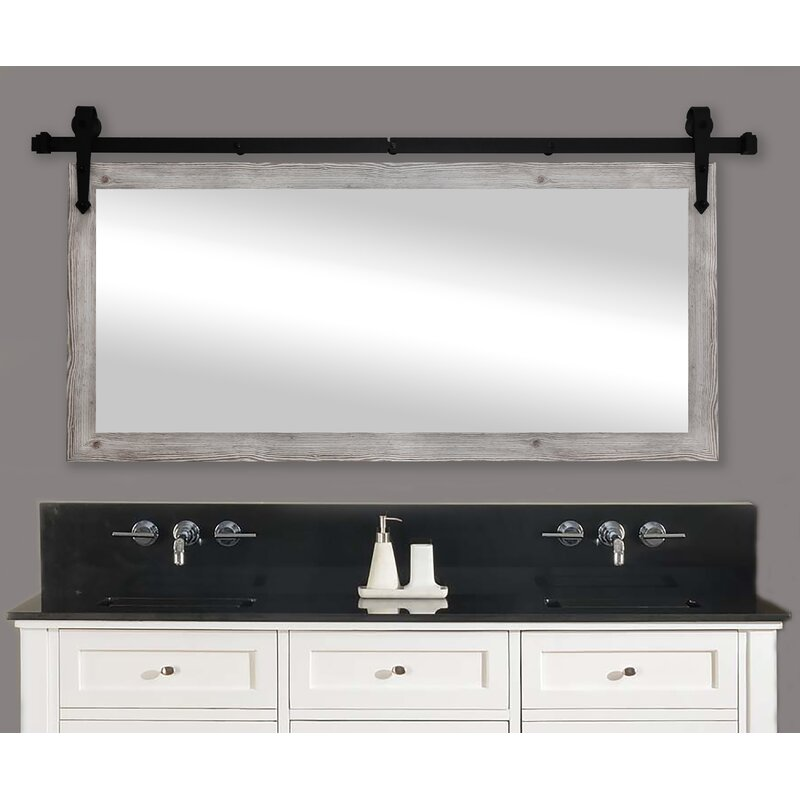 Laurel Foundry Modern Farmhouse Abraham Antique Farmhouse Country Bathroom Vanity Mirror Reviews