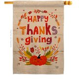 Ornament Collection Thanks Giving 2 Sided Polyester 40 X 28 In House Flag Wayfair