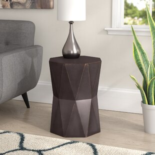 Read Reviews Bartholdi End Table By Mercury Row
