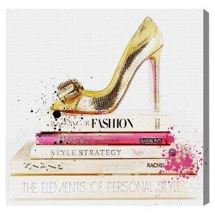 Fashion Wall Art Fashion Books Wall Art  Wayfair
