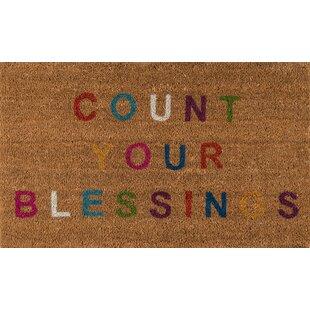 Aloha Blessings Door mat