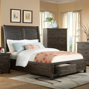 Burkhalter Pines Storage Panel Bed by Union Rustic