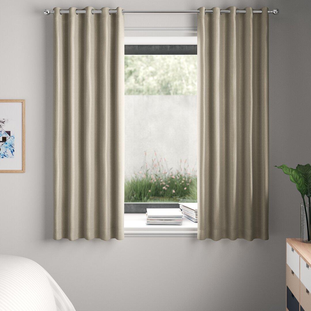 Falkner Eyelet Room Darkening Thermal Curtains