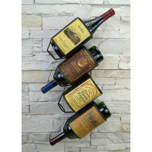Ambler 4 Bottle Wall Mounted Wine Rack By Williston Forge